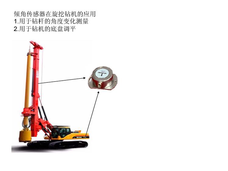 倾角传感器在旋挖钻机上的应用