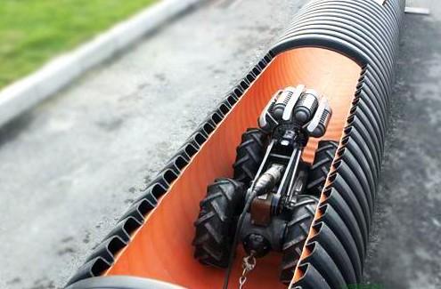 倾角传感器在管道机器人上的使用