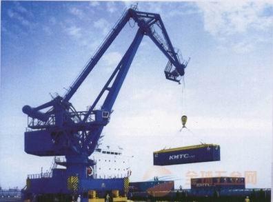 倾角传感器在港口机械上的使用