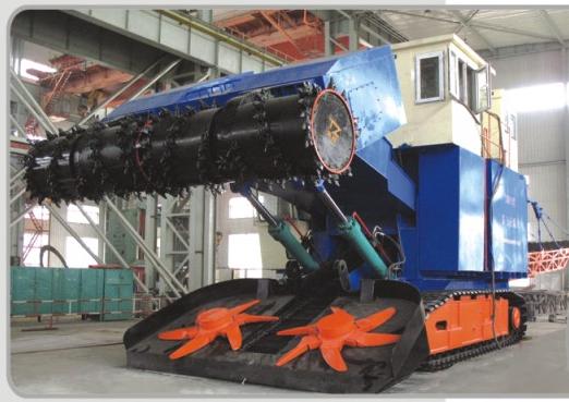 倾角传感器在露天采煤机上的应用