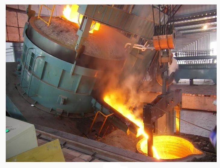 倾角传感器在冶炼炉上的使用
