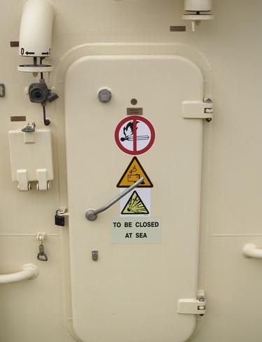 轮船舱门开启监测角度传感器