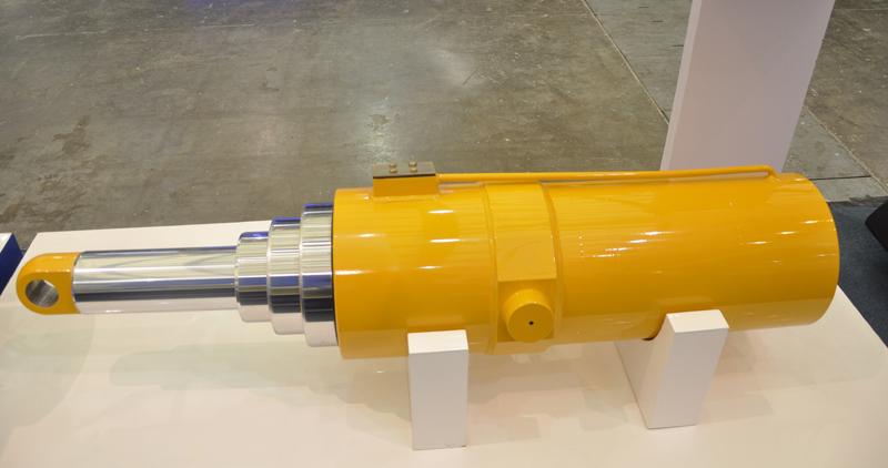 液压缸水平调节倾角传感器