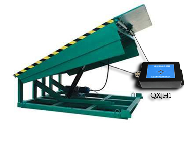 液压升降装车平台倾角控制仪